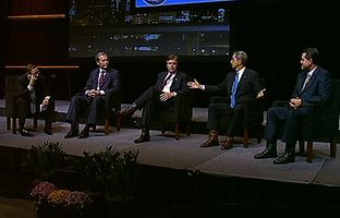 On Friday, at the Texas Municipal League conference, I talked politics and policy with four Republican candidates for lieutenant governor: incumbent David Dewhurst, state Sen. Dan Patrick, Land Commissioner Jerry Patterson and Agriculture Commissioner Todd Staples.