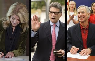 This week in the Texas Weekly Newsreel: Gubernatorial candidates make it official, Rick Perry has something to say about Ted Cruz and Chris Christie, and Greg Abbott starts laying out his policy positions.