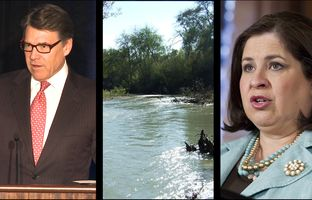 This week in the Texas Weekly Newsreel: Gov. Rick Perry says the Mexican energy industry may solve America's immigration problems, the LCRA gets a new leader and state Sen. Leticia Van de Putte signals she's running for lieutenant governor.