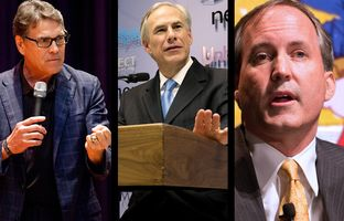 In the Roundup: Donald Trump selects former Gov. Rick Perryto lead the U.S. Department of Energy, Gov. Greg Abbott takes a wait-and-see approach on anticipated bathroom legislation and Attorney General Ken Paxton takes on a new fight over Christmas.