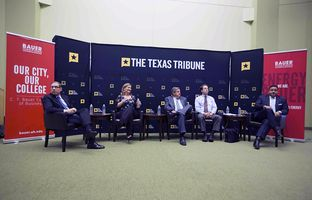 At our 4/29 symposium on the Texas economy, I talked about the state's business climate with state Sen. Konni Burton, R-Colleyville, Bill Hammond of the Texas Association of Business, Greg LeRoy of Good Jobs First, and state Rep. Jason Villalba, R-Dallas.