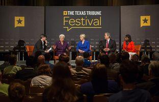 "Here's video of the ""Big Cities, Big Challenges"" panel discussion from The 2015 Texas Tribune Festival. Featured panelists were Corpus Christi Mayor Nelda Martinez, Houston Mayor Annise Parker, Austin Mayor Steve Adlerand San Antonio Mayor Ivy Taylor."