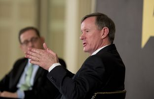 At our 2/5 conversation, Admiral William McRaven, the chancellor of the University of Texas System, explained his opposition to campus carry legislation.