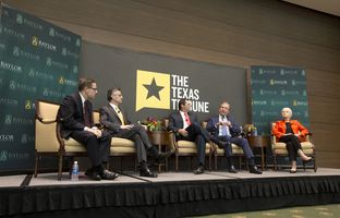 At our 11/16 symposium on higher education, I talked about the pursuit of excellence with Southwestern University President Edward Burger; Paul Foster, the chairman of the University of Texas System Board of Regents; Woody Hunt, chairman of the Strategic Planning Committee of the Texas Higher Education Coordinating Board; and University of Texas at El Paso President Diana Natalicio.