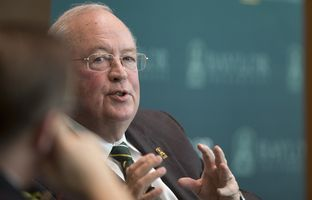 At our 11/16 symposium on higher education, Baylor University President and Chancellor Ken Starr explained why the school would likely opt out of the state's new campus carry law.