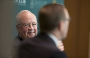 At our 11/16 higher education symposium, I talked to Ken Starr, the president and chancellor of Baylor University, about demographic change, campus carry, free speech, the intersection of a traditional culture with the modern world, and, of course, football.
