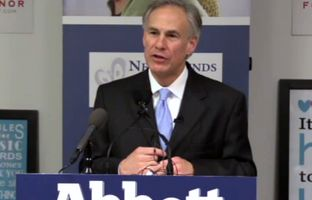 At an event in Dallas on Tuesday, Attorney General and Republican gubernatorial candidate Greg Abbott talked about his plans to address border security, human trafficking and domestic violence.