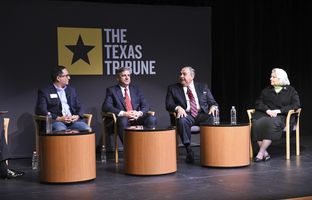 At our 12/9 symposium on cybersecurity and privacy, I talked about the cybersecurity of state agencies and government entities with state Rep. Larry Gonzales, R-Round Rock; Todd Kimbriel, interim executive director of the Texas Department of Information Resources; Jesse Rivera, chief information security officer at the Texas Comptroller of Public Accounts; and state Sen. Judith Zaffirini, D-Laredo.
