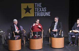 At our 12/9 symposium on cybersecurity and privacy, Gregory White of the University of Texas at San Antonio talked about the cybersecurity of Texas cities with  Chris Cook, a director of the Cyber Texas Foundation; Mary Dickerson, chief information security officer for the University of Houston; David LaPlante, chief information security officer for the City of Houston; and Hugh Miller, chief technology officer for the City of San Antonio.