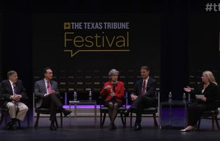 "Here's full video of our ""Can the Center Hold?"" panel discussion Saturday at The Texas Tribune Festival. The panel featured former U.S. Sens. Evan Bayh and Kay Bailey Hutchison, former U.S. Housing and Urban Development Secretary Henry Cisneros and former New Hampshire Gov. John Sununu."