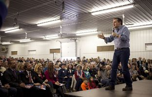 After months of polling and posturing, the first nominating contest of the presidential primary season kicks off Monday in Iowa. Republican Ted Cruz is working to ensure his supporters get out to caucus.