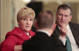 At our 3/12 conversation, Fort Worth Mayor Betsy Price and Dallas Mayor Mike Rawlings discussed the perceived rivalry between their cities — and how cooperation can benefit them.