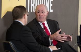 At our 4/16 conversation, state Sen. Kel Seliger, R-Amarillo, and state Rep. John Zerwas, R-Richmond — the chairmen, respectively, of the Senate and House Higher Education committees — talked about the need for new building projects on public university campuses.