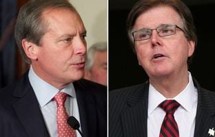 Lt. Gov. David Dewhurst and his challenger Dan Patrick went head to head Tuesday night in a debate hosted by the Central Texas Tea Party. The debate followed last week's release of Patrick's medical records and the ensuing political firestorm over it.