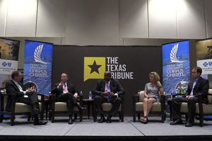 On 9/28, we talked about the future of environmental policy in Texas with the TCEQ's Toby Baker ; John Hall of the Environmental Defense Fund; state Rep. Geanie Morrison, R-Victoria; and Mike Wetz of Texas A&M University-Corpus Christi.