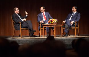 Full video of my 4/2 TribLive conversation with San Antonio Mayor Julián Castro and U.S. Congressman Joaquin Castro, D-San Antonio, at the LBJ Presidential Library in Austin.