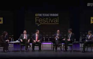 "Here's full video of our ""Homeland Security Begins at Home"" panel discussion Saturday at The Texas Tribune Festival. The panel featured U.S. Reps. Joaquin Castro, Henry Cuellar, Blake Farenthold, Beto O'Rourke and John Ratcliffe."