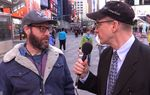 The Texas Tribune's Jay Root took a trip through New York City's Times Square to ask folks what they thought about U.S. Sen. Ted Cruz, the first declared 2016 presidential candidate. The answers might surprise you.