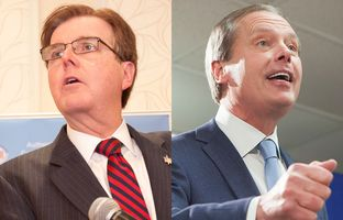On Tuesday, the top two vote-getters in the Republican primary for lieutenant governor — state Sen. Dan Patrick and incumbent David Dewhurst — spoke to their supporters at events in Houston. Watch what they said as they begin their runoff campaigns.