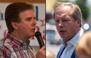 No subject was off limits in the Republican primary runoff for Texas lieutenant governor. State Sen. Dan Patrick, R-Houston, and Lt. Gov. David Dewhurst exchanged heated attacks.
