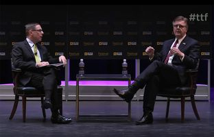 Here's full video of my conversation Friday with Lt. Gov. Dan Patrick at The Texas Tribune Festival.