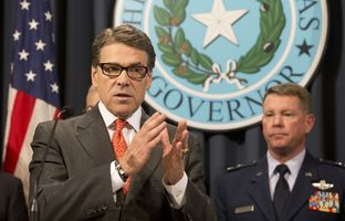 Gov. Rick Perry announced on Monday that the state will activate as many as 1,000 Texas National Guard troops to enhance security on the Texas-Mexico border; here is the video of his remarks.