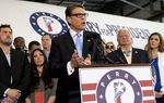On Thursday, former Texas Gov. Rick Perry officially threw his name into the 2016 race for the White House. His announcement comes four years after his first presidential campaign. Supporters say they're not looking back.