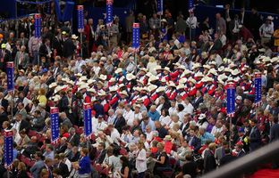 On the first day of the GOP national convention, Texas Republican leaders said the party needed to unite behind Donald Trump. But some delegates appeared to still have doubts.