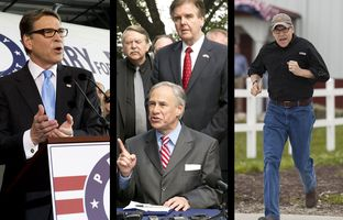 In the Roundup: Former Gov. Rick Perry is officially in the 2016 race for president, Gov. Greg Abbott is busy signing key legislation into law and abortion providers are grappling with the latest court ruling that could leave just a handful of clinics open statewide.