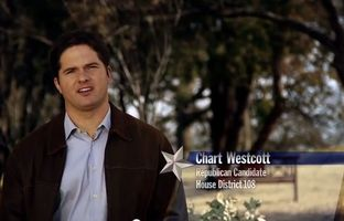 Chart Westcott is one of three Republican candidates vying for the open North Dallas HD-108 seat.