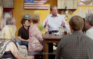 In a new statewide television ad for his re-election campaign, Lt. Gov. David Dewhurst highlights his record of tax breaks and job creation while in office.