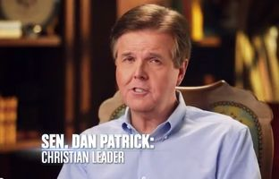 "The Dan Patrick campaign on Thursday released a new television spot highlighting the state senator's Christian values. In the 30-second ad, the Houston Republican tells viewers that he is ""a Christian first, a conservative second and a Republican third."""