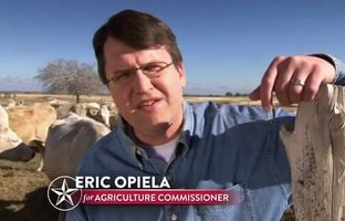 Eric Opiela, a Republican candidate for agriculture commissioner, released an ad Monday that will also appear on major TV stations in Dallas and Houston. The ad touts Opiela's record, including his stance against amnesty for undocumented immigrants.