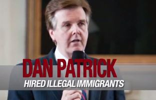 Todd Staples' campaign began airing TV and radio ads Tuesday attacking fellow GOP lieutenant governor hopeful Dan Patrick over reports that illegal immigrants were hired to work at sports bars that Patrick owned in the 1980s.