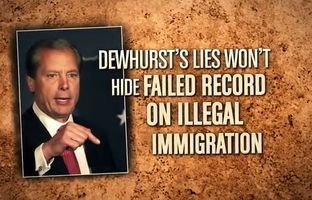 """The Dan Patrick campaign attacks incumbent Lt. Gov. David Dewhurst for a """"failed record"""" on illegal immigration in a newTV spot that began airing on Fox News in 14 markets across the state. Patrick, a Houston state senator, is facing Dewhurst in a May Republican primary runoff."""