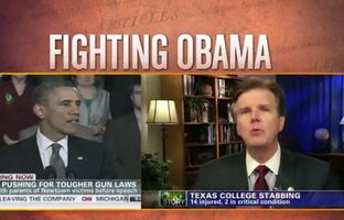 In his third TV ad of the campaign season, state Sen. Dan Patrick champions Second Amendment rights and his opposition to President Obama.