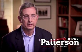 "In the first television spot of his campaign for lieutenant governor, Land Comissioner Jerry Patterson talks about ""a strong Texas woman"" — his mother.  The commercial will run on Fox News and in major state markets."