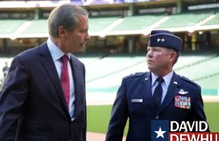 Republican Lt. Gov. David Dewhurst touts his military experience and his time working for the CIA in his latest campaign video about job opportunities in the state.