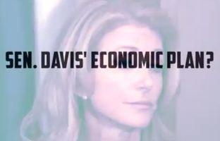 "In a new web ad, Republican gubernatorial hopeful Greg Abbott attacks his Democratic opponent Wendy Davis over what his campaign alleges is her ""willingness to raise taxes."""