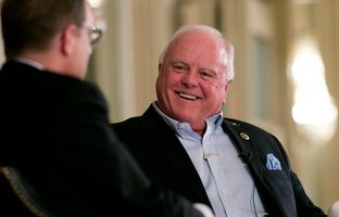 At Thursday's TribLive conversation, former state Rep. Sid Miller, R-Stephenville, a 2014 candidate for Texas Agriculture Commissioner, discussed the proper balance between strengthening border security and maintaining the agricultural industry's labor force.
