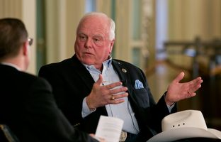 At Thursday's TribLive conversation, former state Rep. Sid Miller, R-Stephenville, a 2014 candidate for Texas Agriculture Commissioner, explained why the state's water crisis would be his first priority if he's elected — and what he'd do about it.