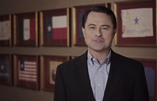 Republican Todd Staples, running for lieutenant governor, rolled out a new TV commercial extolling his views on immigration.