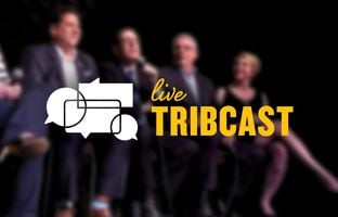 We're livestreaming our live post-election TribCast recording in Austin.