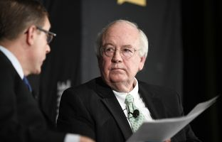 Ken Starr, former president of Baylor University, pushed back against the notion that the school has systemic problems handling sexual assault investigations. Starr also offered support for Art Briles, Baylor's ousted football coach.