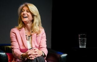 At Thursday's TribLive conversation, state Sen. Wendy Davis, D-Fort Worth, the Democratic nominee for Texas governor in 2014, laid out the bill of particulars against her GOP opponent, Greg Abbott.
