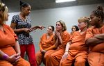 Through a program at the Harris County Jail, 20 women are working to avoid returning to a life of prostitution. The program is led by a woman who knows only too well the struggles they face.