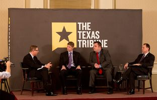 At Thursday's TribLive conversation, state Reps. Matt Krause, R-Fort Worth; Jonathan Stickland, R-Bedford; and Steve Toth, R-The Woodlands, explained their objection to dipping into the Rainy Day Fund to jump-start the state water plan.