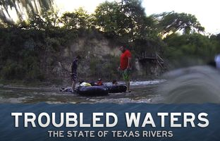 Many Texans gauge the health of the Guadalupe River by the speed of their tubing trip. Given the drought conditions plaguing most of the state, people come prepared to walk. On a broader scale, the shallow spots are indicative of the growing demand on the spring-fed water source.