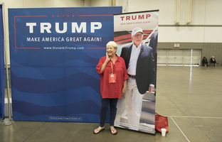 Not every Texas Republican is fully embracing Donald Trump as their candidate, but a majority of the thousands attending the state party convention this week in Dallas say they'll vote for the presumptive GOP presidential nominee come November.