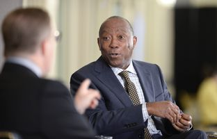 At our 4/30 conversation, state Rep. Sylvester Turner, D-Houston, vice chairman of the House Appropriations Committee and a candidate for Houston mayor, talked about the work of the budget conference committee.